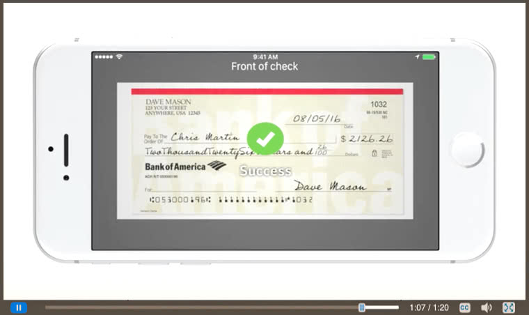 Cómo Usar Depósito De Cheque Vía Móvil